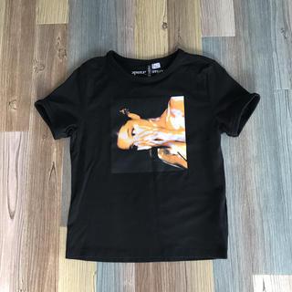 H&M - Ariana Grande  Tシャツ 黒 H&Mコラボ