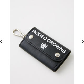 RODEO CROWNS WIDE BOWL - ロデオクラウンズ   キーケース ブラック