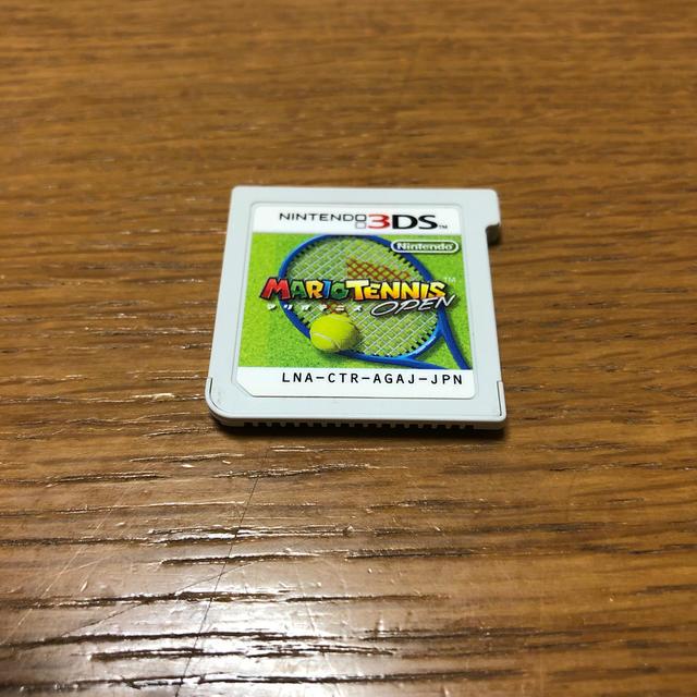 ニンテンドー3DS(ニンテンドー3DS)のマリオテニス エンタメ/ホビーのゲームソフト/ゲーム機本体(家庭用ゲームソフト)の商品写真