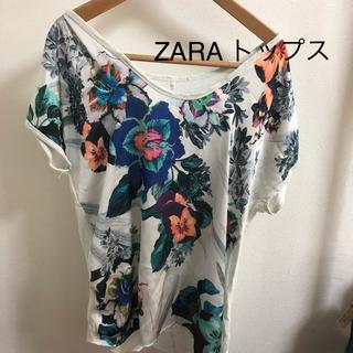 ZARA - ZARA 花柄トップス