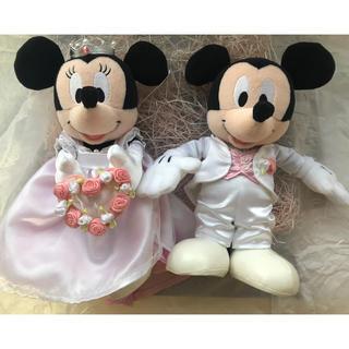 Disney - ミッキーミニー 結婚式 ぬいぐるみ