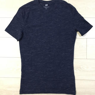 エイチアンドエム(H&M)のメンズ H&M クルーネック Tシャツ スリムフィット S(Tシャツ/カットソー(半袖/袖なし))