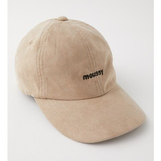 moussy - MOUSSY SUEDE キャップ スエードキャップ 帽子