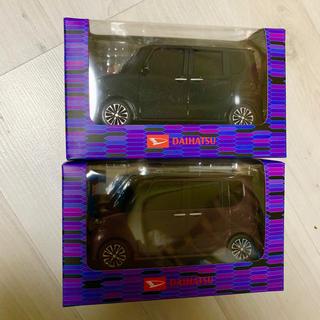 ダイハツ(ダイハツ)のDAIHATSU TANTO プルバックカー チョロQ ミニカー 2個セット(ミニカー)