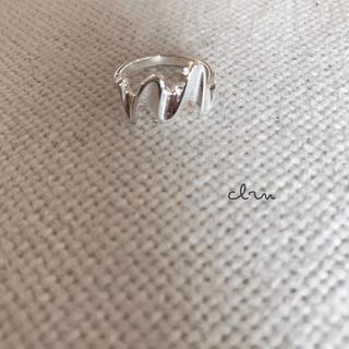 トゥデイフル(TODAYFUL)の再販 silver925 シャイニー シルバーリング (リング(指輪))