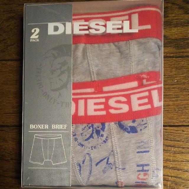 DIESEL(ディーゼル)のDIESEL キッズボクサートランクスSサイズ2枚セット キッズ/ベビー/マタニティのキッズ服 男の子用(90cm~)(下着)の商品写真