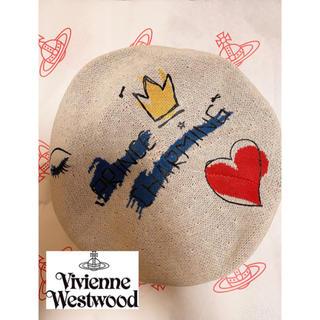 Vivienne Westwood - レア美品☆プリンスチャーミング柄☆Vivienne Westwood ベレー帽