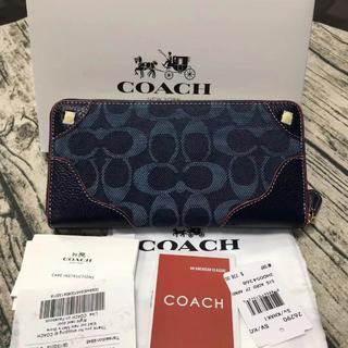 COACH - COACH定番人気 長財布