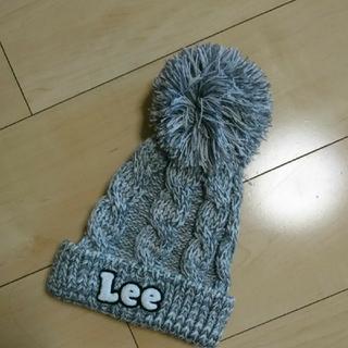 リー(Lee)の【新品】Lee  リー  ☆ニット帽  54センチ(帽子)