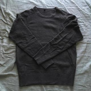 ムジルシリョウヒン(MUJI (無印良品))の無印良品 ヤクウール クルーネックセーター(ニット/セーター)
