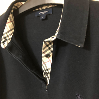BURBERRY - バーバリーロンドン 長袖ポロシャツ