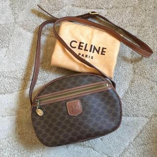 celine - オールド セリーヌ マカダム ショルダー