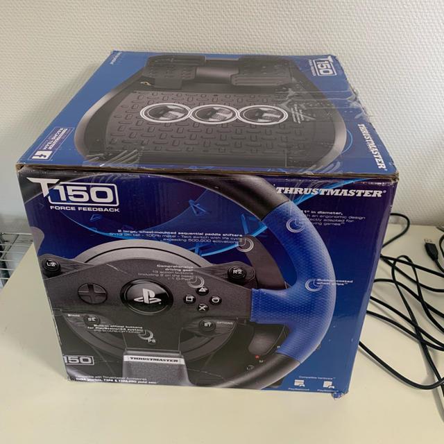スラストマスター T150 ハンコン エンタメ/ホビーのゲームソフト/ゲーム機本体(その他)の商品写真