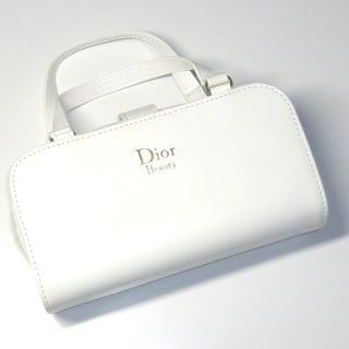 Dior - 新品DIORノベルティーポーチバッグカナージュコスメメイクビューティー白色