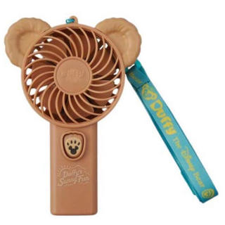 Disney - 047  ダッフィ ハンディ扇風機