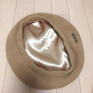 ステューシー(STUSSY)のステューシー   ベレー帽(ニット帽/ビーニー)