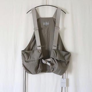アンユーズド(UNUSED)のATELIER BETON  function tool vest (gray)(ベスト)