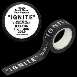 KAT-TUN - IGNITE 会場限定マステ 横アリ