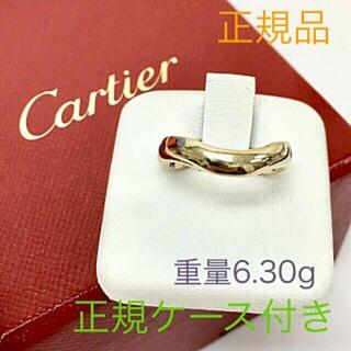 カルティエ(Cartier)の正規品 Cartier カルティエ ラブミーK18ホワイトゴールドリング(リング(指輪))
