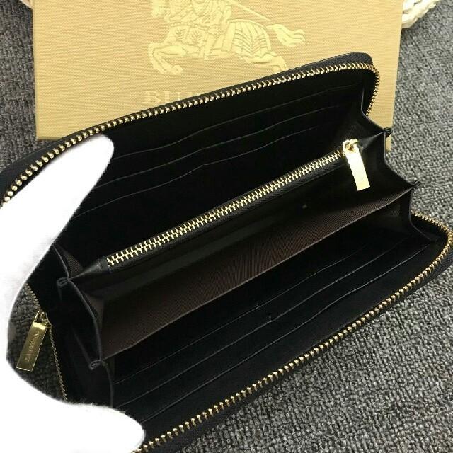 BURBERRY(バーバリー)のBurberry バーバリー 長財布 ファスナー 男女兼用 正規品 メンズのファッション小物(長財布)の商品写真