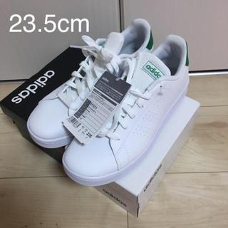 adidas - 新品 アディダス 23.5cm スニーカー ホワイト グリーン