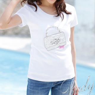 レディー(Rady)のビジュー♡キルティングバッグTシャツ(Tシャツ(半袖/袖なし))