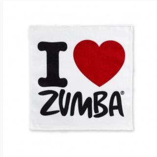 ズンバ(Zumba)のI love zumba ♡ タオル(トレーニング用品)