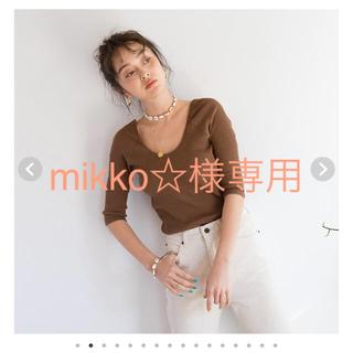 シールームリン(SeaRoomlynn)のmikko☆様 バックオープンロンT(Tシャツ(長袖/七分))