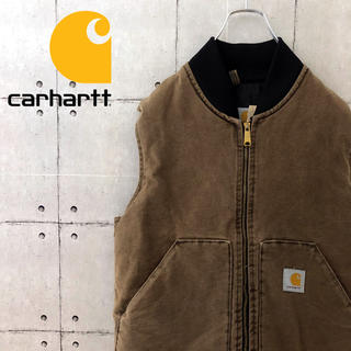 carhartt - 【USA製】90s カーハート ダック生地 ベスト こげ茶