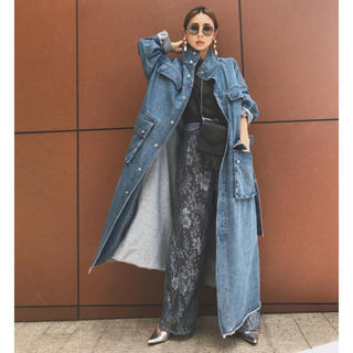 Ameri VINTAGE - Amelievintage denim work long coat
