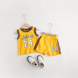 **新品インポート子供服NBAユニフォーム上下セット**サイズ80**
