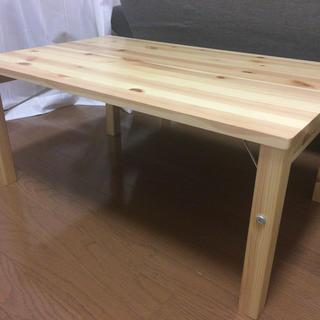 ムジルシリョウヒン(MUJI (無印良品))の無印良品 折りたたみテーブル(折たたみテーブル)