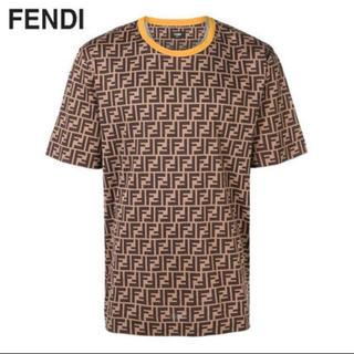 希少 FENDI Tシャツ フェンディ  新品 ズッカ柄