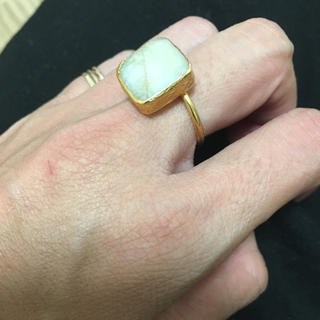 ジュピターゴールドレーベル(jupiter GOLD LABEL)の新品bluestyle天然石リング指輪アクセサリー(リング(指輪))