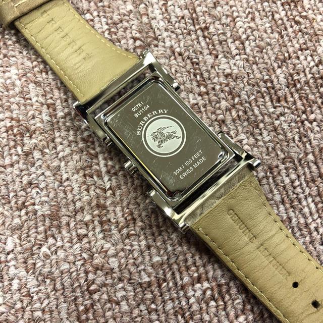 BURBERRY(バーバリー)のBurberry ユニセックスレザーストラップウォッチ メンズの時計(腕時計(アナログ))の商品写真