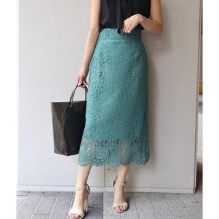 ノーブル(Noble)のNOBLE リバーレースタイトスカート(ロングスカート)