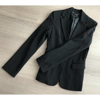 イング(INGNI)のタイムセール イング 黒 ブラック スーツ ジャケット シンプル スタンダード(テーラードジャケット)