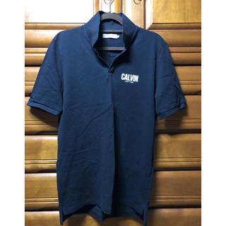 カルバンクライン(Calvin Klein)のカルバンクライン メンズ ポロシャツ ブラック(ポロシャツ)