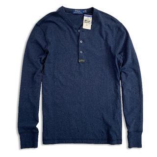 ポロラルフローレン(POLO RALPH LAUREN)のポロラルフローレン『新品正規品タグ付き』ヘンリーネック長袖TシャツS(Tシャツ/カットソー(七分/長袖))