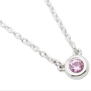 Tiffany & Co. - ティファニー  ピンクサファイヤネックレス