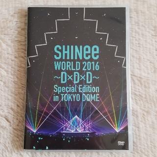 シャイニー(SHINee)のSHINee WORLD 2016~D×D×D~  DVD(K-POP/アジア)