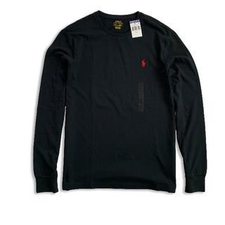 ポロラルフローレン(POLO RALPH LAUREN)のポロラルフローレン『新品正規品タグ付き』長袖TシャツBlack S(Tシャツ/カットソー(七分/長袖))