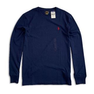 ポロラルフローレン(POLO RALPH LAUREN)のポロラルフローレン『新品正規品タグ付き』長袖TシャツNavy S(Tシャツ/カットソー(七分/長袖))