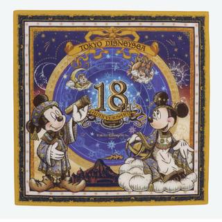 Disney - ディズニーシー 18周年 バンダナ