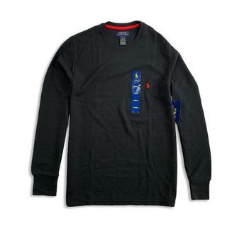 ポロラルフローレン(POLO RALPH LAUREN)のポロラルフローレン『新品正規品タグ付き』ワッフル長袖TシャツM(Tシャツ/カットソー(七分/長袖))