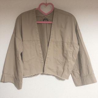 カスタネ(Kastane)のトラッカーシャツジャケット(ノーカラージャケット)