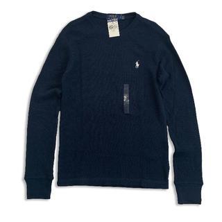 ポロラルフローレン(POLO RALPH LAUREN)のポロラルフローレン『新品正規品タグ付き』ワッフル長袖TシャツS(Tシャツ/カットソー(七分/長袖))