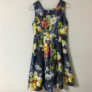 アーバンリサーチ(URBAN RESEARCH)のkaene花柄ドレス(その他ドレス)