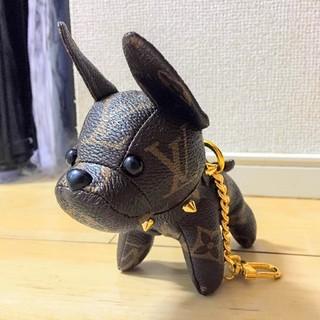LOUIS VUITTON - ルイ ヴィトン バッグチャーム チャーム 犬 イヌ キーホルダー