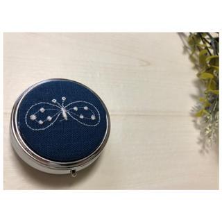 mina perhonen - ミナペルホネン ピルケース ブルー
